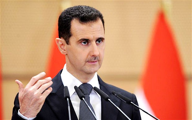 presidente de Siria Bashar al Assad