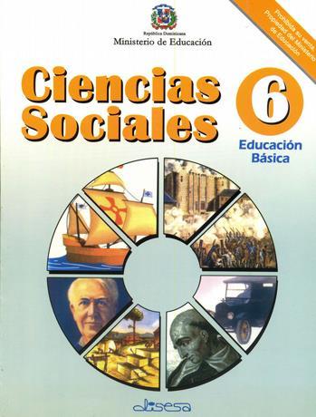 Libro Ciencias Sociales Sexto Grado