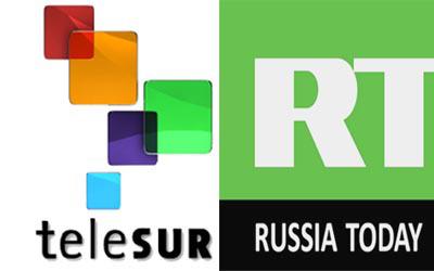 TeleSur y Russia Today
